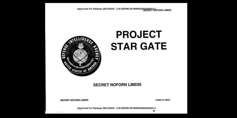 Stargate CIA report
