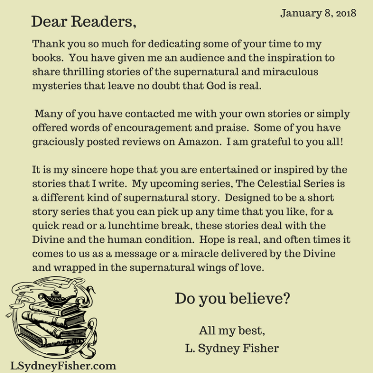 Dear Readers Letter